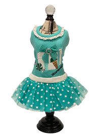 Wooffany Candy Blue Box Dress