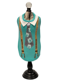 Wooffany Blue Box Tie Tank