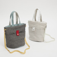 Louisdog Irish Linen For Walking Bag