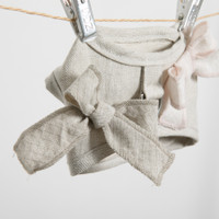 Louisdog Irish Linen Harness Set