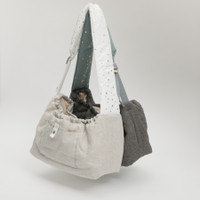 Louisdog Irish Linen Sling Bag