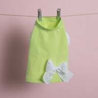 Louisdog Ribbon Sleeveless Organic Tee