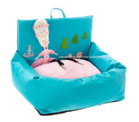 Marie Antoinette w/ Her Pink Poodle Driving Kit Dog Car Seat