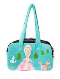 Marie Antoinette/Pink Poodle Zipper Pet Carrier