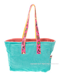 Sweets And Cakes Dog Carrier - Tiffany Blue