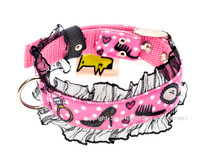 Audrey Textile Dog Collar
