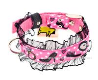 Audrey Textile Dog Collar
