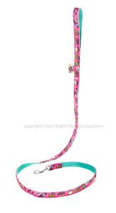 Candy Shop Textile Leash - Pink
