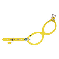 Buddy Belt Pebble Grain Dog Harness - Canary