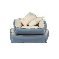 Play Cushion Dog Bed - Cream