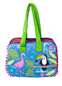 Tropical Toucan Zipper Pet Carrier