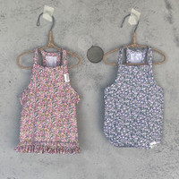 Louisdog Floral Sleeveless Tee