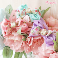 Wooflink Vintage Floral Necklace