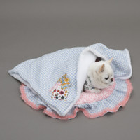 Louisdog Liberty Patchwork Blanket