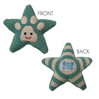 Sniffany Star Smiley Organic Cotton Toy