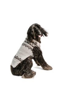 Alpaca Smokey Wyatt Dog Sweater
