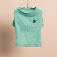 Louisdog Pocket n Button T-Shirt