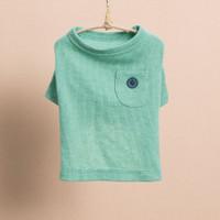 Louisdog Pocket n Button T-Shirt