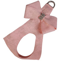 Susan Lanci Puppy Pink Glitzerati Nouveau Bow Step in Harness