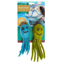 Assorted Felted Octopus Toys - 2 Pack