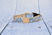 Floral Chambray Collar & Lead