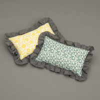 Louisdog Frill Liberty Pillow
