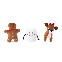 Holiday Miniz 3-Pack Santa's Friends