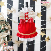 Wooflink Winter Holiday Princess Dress