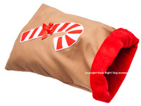 Candy Cane Sleeping Bag