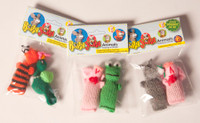 Barnyarn Animals 2-Pack Cat Toys