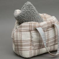Louisdog Plaid Linenaround Bag
