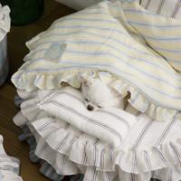 Louisdog Candybar Goose Blanket