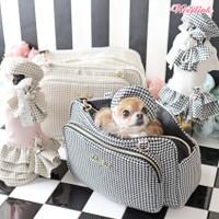 Wooflink Houndstooth Petite Bag