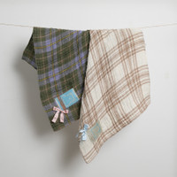 Louisdog Linen Plaid Blanket