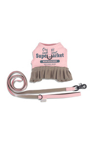 Frilly Supermarket Harness Set - Pink Salt