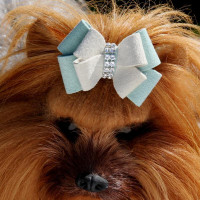 Susan Lanci Hope Double Nouveau Bow Hair Bow