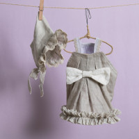 Louisdog Natural Linen Dress
