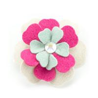 Susan Lanci Blossom Flower Hair Bow