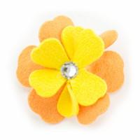Susan Lanci Darla Flower Hair Bow