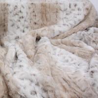 Susan Lanci Arctic Snow Leopard Pet Blanket
