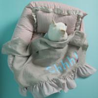 Louisdog Shhh Blanket