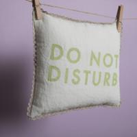 Louisdog Do Not Disturb Pillow
