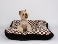 Susan Lanci Square Windsor Big Check Bed
