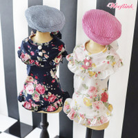 Wooflink Floral Mini Dress