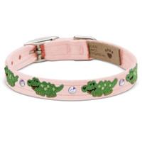 Susan Lanci Green Alligators Collar