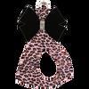 Pink Cheetah - Black