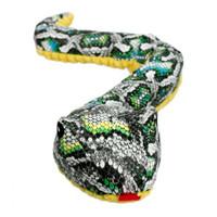 Plush Snake Crunch Toy