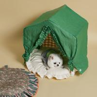 Louisdog Greeny Peekaboo Dog House