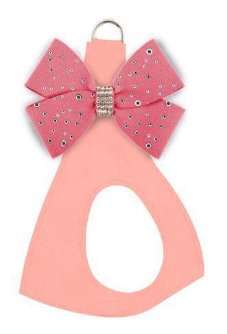 Puppy Pink w/ Peaches n Cream Bow