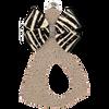 Fawn w/ Zebra Bow